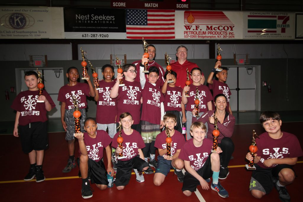 SYS 3rd & 4th GR Boys Hoops Southampton Winners