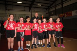 SYS Hoops 5th & 6th Grade Girls Champions - MYO (Moriches Youth Organization)